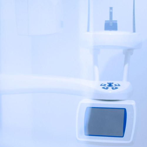 clinica dental con radiografia digital