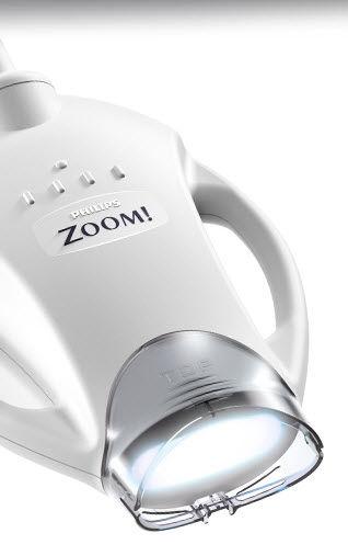 Detalle de lánpara Philips Zoom