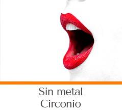 Dentista sin metal, Circonio