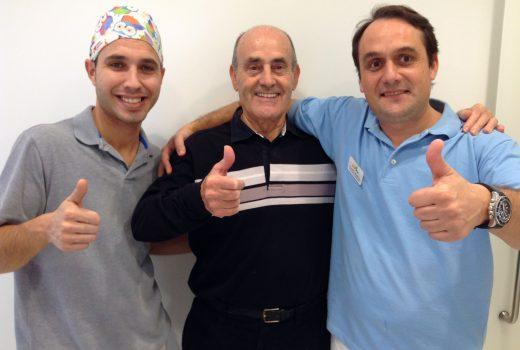 Pacientes satisfechos en Clínica Dental Asensio