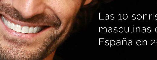 Las 10 sonrisas masculinas españolas de 2015