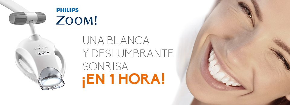 Banner blanqueamiento dental Philips Zoom