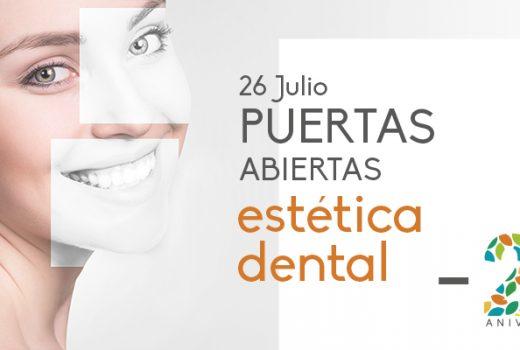 Celebramos Jornada de Puertas Abiertas sobre estética dental por nuestro 20 aniversario