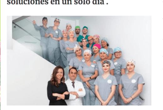 El periódico Las Provincias se hace eco de Asensio Odontología Avanzada
